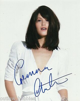 Gemma Arterton Autographed Signed 8x10 Photo COA