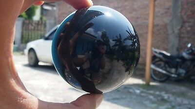 204 Gram 71 mm Round Ball Indonesian Dark  Amber