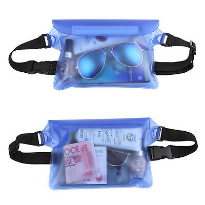 Waterproof Waist Pouch Bag Fanny Pack Underwater Swimming Dry Case For Phone