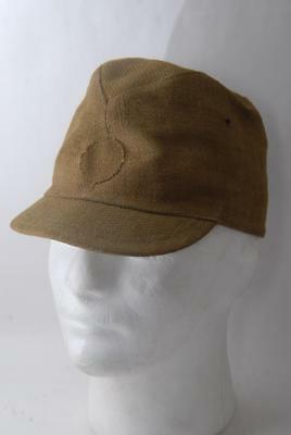 Mint! WW2 Vintage Japanese Army Soldier's Cap w/ Distribution Voucher Tag #a3853