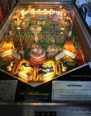 Williams 1967 Pinball Magic Town