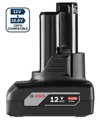 Bosch 12/10.8 V Professional 4.0 Ah Lithium Ion Cordless Battery - new others
