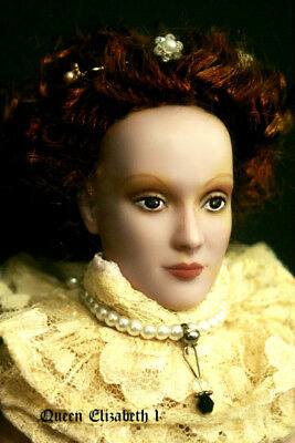 Tonner Tyler OOAK REPAINT Doll COMMISSION with COA by Paolina De Morcey