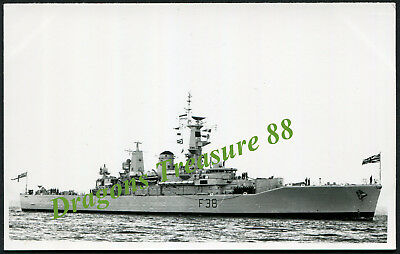 H.M.S. ARETHUSA (F38), Photo, Royal Navy Leander-class Frigate,1965 - 1989