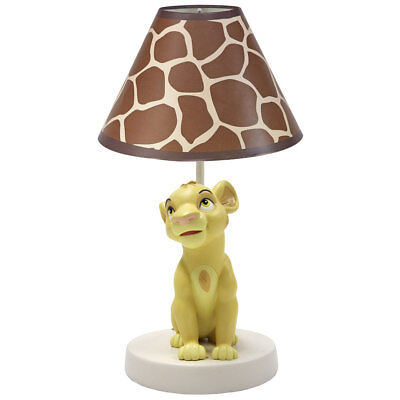 """Lion King """"Go Wild""""  Lamp by Disney Baby"""