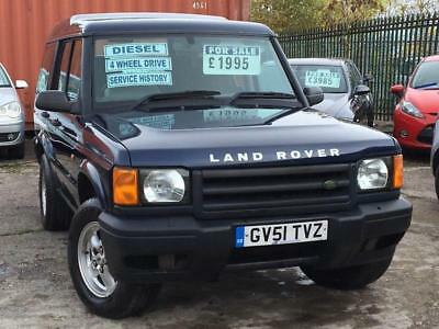 Land Rover Discovery E TD5 7 SEAT