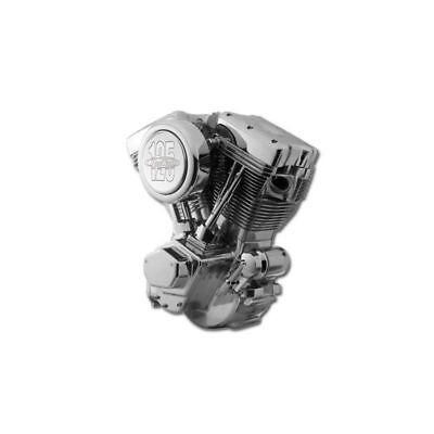 "Moteur 125"" Revtech finition Poli Chrome euro 3"