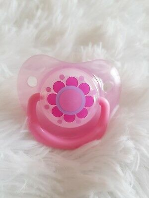 ♡Reborn Baby♡ Pink Flower ♡ Magnetic Soother~Reborn Baby Doll
