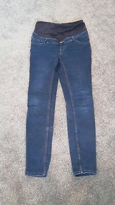 NEW LOOK over Bump Maternity Jeggings. Size 10 pregnancy Jeans. Super skinny