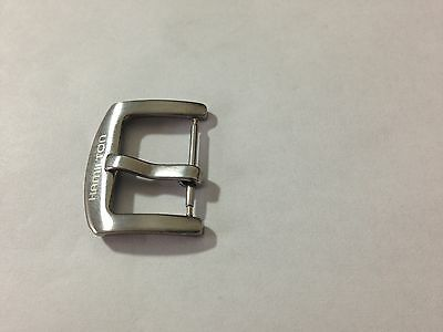 20Mm Hamilton Stainless Steel Gents Watch Strap Buckle,new