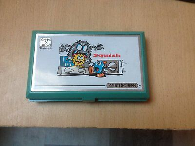 Nintendo Game&Watch Squish game and watch