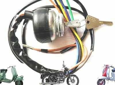 Lambretta Ignition Switch Ac Gp Li Sx Tv Two Keys Hi Quality  @aus