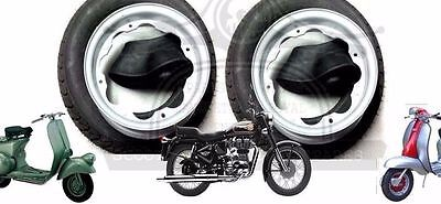 Lambretta Wheel Rim +Continental Tyre 3.50 X 10 + Inner Tube 2 Units @aus
