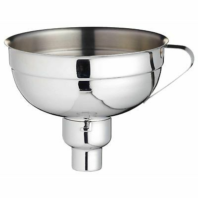 Kitchen Craft Stainless Steel Large Capacity Adjustable Jam Funnel