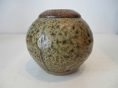 Probably Derek Clarkson Ovid Studio Pottery Vase