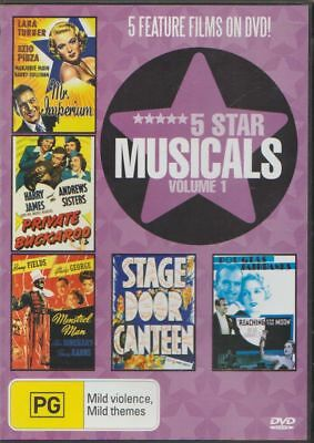 D.v.d Movies.dva 786   5 Star Musicals  Volume 1   5 Feature Films On Dvd!