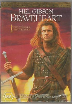 D.v.d Movies.dva 783   Braveheart : Mel Gibson , Special Edition 2 Disc Set  Dvd