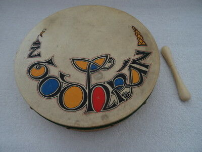 Bodhran / Irish Drum. 31cm. With double-ended Tipper/Beater. From Ireland.
