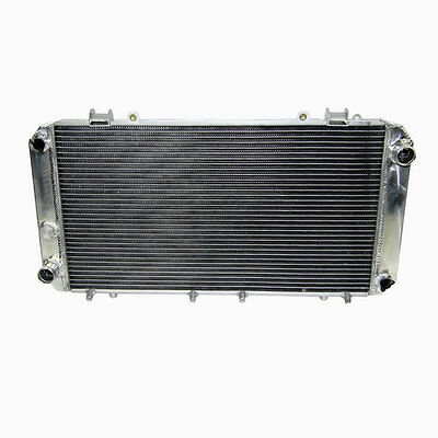 2Row Aluminium Radiator FOR TOYOTA MR2 1984-1989 1.6L AW11 MT 1985 1986 1987 88