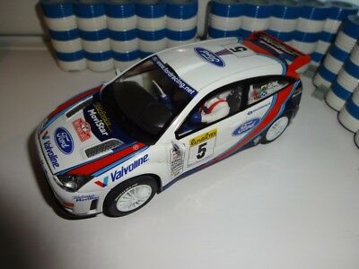 Scalextric Colin McRae C2176 Ford Focus WRC Rally Car Slot Car EXCELLENT LIGHTS