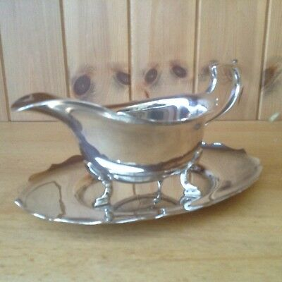 Vintage Silver Plated Sauce/Gravy Boat