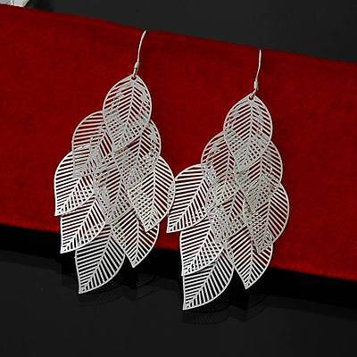Jewelry 925 Silver Charming Womens Earrings New Fashion For Women Gift*