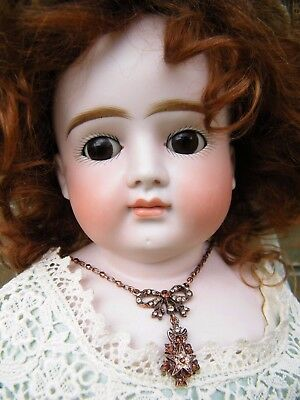 Stunning Rare Large Antique Mystery Fashion Lady Doll 73cm/29 Inches Marked 12