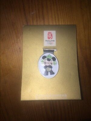 BEIJING 2008 OLYMPIC BADGE COLLECTORS Very Rare Panda NEW