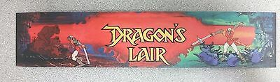 Dragon's Lair marquee sticker. 2.25 x 10.75. Buy any stickers, GET ONE FREE!