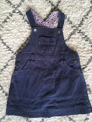 jojo maman bebe dungaree dress 18-24 Month