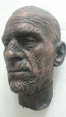 the mummy Boris karloff face cast