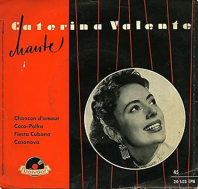 """Caterina Valente Chanson D'amour Ep 7 """" Germany Ex *"""