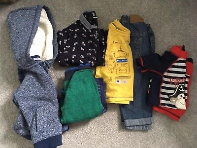 Baby Boys Clothes 9-12 Months Bundle