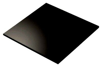 Black Colour Perspex Acrylic Sheet Plastic Material Panel Cut to Size