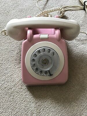 Old Fashioned Telephone Pink