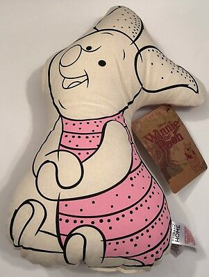 PRIMARK DISNEY WINNIE THE POOH PIGLET CHARACTER SHAPED CUSHION - Brand New