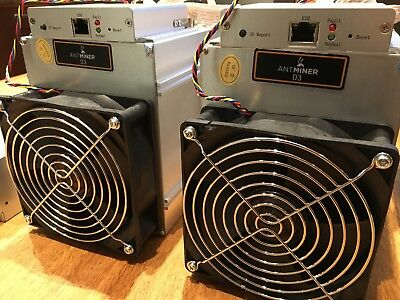 2 x ANTMINER D3 AND 2 x APW3++ PSU **UK STOCK READY TO SHIP NOW**