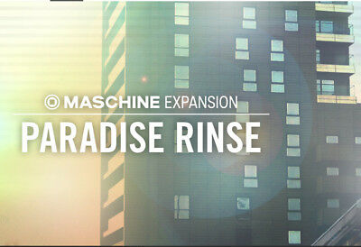 Native Instruments Maschine Expansion Pack - Paradise Rinse