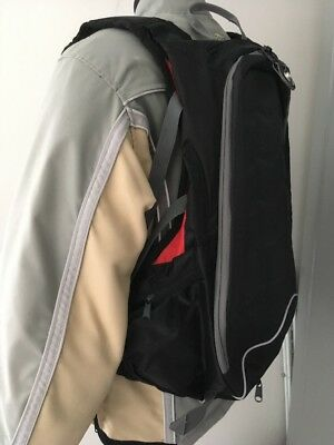 Motorcycle Armoured Backpack Loads Of Space, Pockets Etc Great Condition