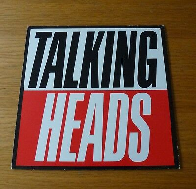 Talking Heads True Stories Vinyl LP 1986