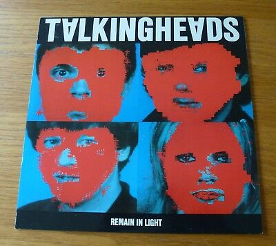 Talking Heads Remain In Light Vinyl LP 1980