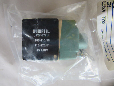 Numatics 227-877B Coil Valve NEW!!! With Free Shipping
