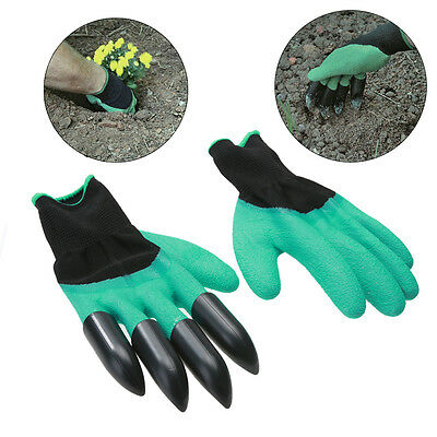 1Pai Garden gloves for Dig Planting Garden Work Safety Working Protective Gloves