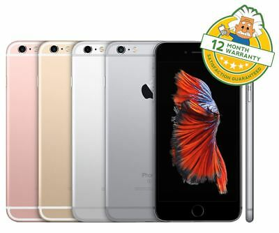 Apple iPhone 6S - Unlocked - 16/32/64/128GB - Grey/Silver/Gold/Rose Gold