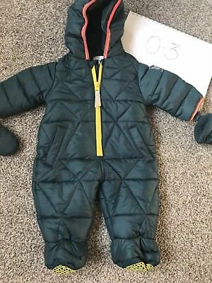Baby Boy Ted Baker Snow Suit Outfit 0-3 m