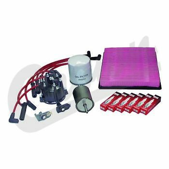 Kit Maintenance,filters,spark Plugs,cables,top Jeep Grand Cherokee 4.0L 93/96