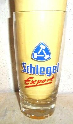 Schlegel +1980 Bochum Export German Beer Glass