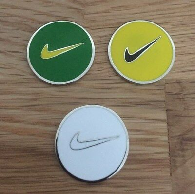 Set of three Magnetic golf ball markers                                m156