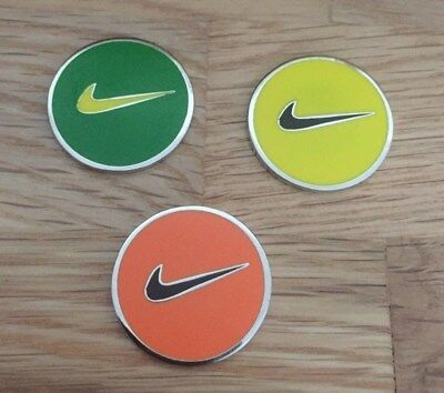 Set of three Magnetic golf ball markers                                m157