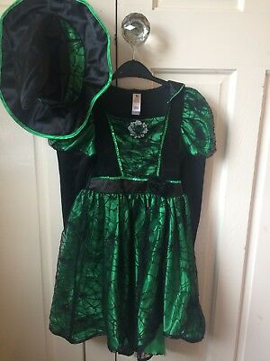Girls Witch outfit age 5-6 Tu